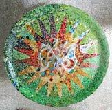 Modelo de mosaico al azar foto de archivo