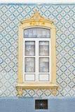 Modelo de mosaico alrededor de la ventana Imagenes de archivo