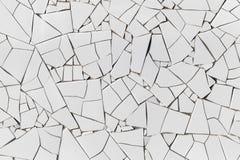 Modelo de mosaico blanco decorativo imágenes de archivo libres de regalías
