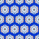 Modelo de mosaico geom?trico fotos de archivo