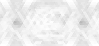 Modelo de mosaico inconsútil de plata Fondo gris abstracto para la bandera, cartel, tarjeta, diseño de la página web stock de ilustración