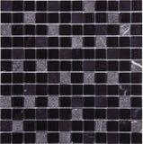 Modelo de mosaico inconsútil del mármol de la casilla negra Imagen de archivo libre de regalías