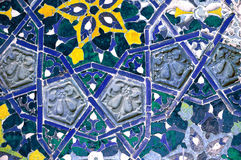 Modelo de mosaico islámico Imagen de archivo