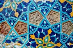 Modelo de mosaico islámico Foto de archivo libre de regalías
