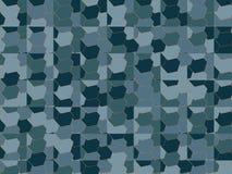 Modelo de mosaico moderno stock de ilustración
