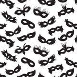 Modelo de máscaras del carnaval Fotografía de archivo