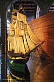 Modelo de nave Imagen de archivo