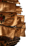 Modelo de navio da tosquiadeira fotografia de stock royalty free