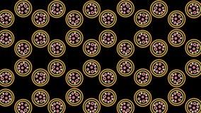 modelo de neón abstracto de la pizza imagen de archivo