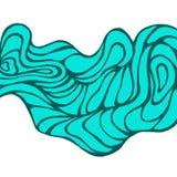 Modelo de onda Fotografía de archivo libre de regalías
