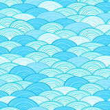 Modelo de onda inconsútil de agua Fotografía de archivo