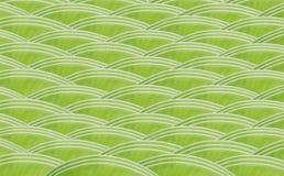 Modelo de onda verde del diseño de la hoja del plátano fotografía de archivo