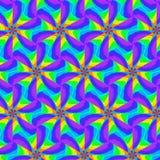 Modelo de ondas abstracto inconsútil libre illustration