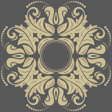 Modelo de Oriente del damasco Imagen de archivo libre de regalías