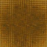 Modelo de oro abstracto del fondo Fotografía de archivo