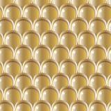 Modelo de oro de la escala Fotografía de archivo