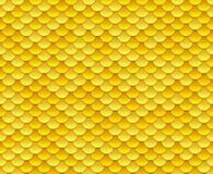 Modelo de oro de la escala stock de ilustración