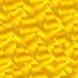 Modelo de oro inconsútil del vector, movimientos de la pintura, fondo colorido stock de ilustración