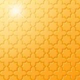 Modelo de oro islámico tradicional Imagenes de archivo