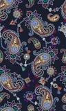 Modelo de Paisley que consiste en la joyería y la joyería de la moda Imágenes de archivo libres de regalías