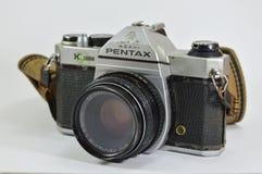 Modelo de Pentax K 1000 una cámara clásica de la película Imagen de archivo libre de regalías