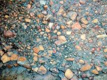 Modelo de piedra del fondo de la grava Imagenes de archivo