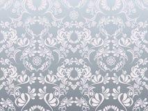 Modelo de plata abstracto de la decoración Fotografía de archivo