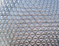 Modelo de plata abstracto del triángulo Imagen de archivo