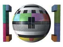 Modelo de prueba Imagen de archivo