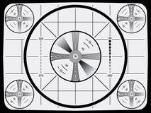 Modelo de prueba de la televisión Imagen de archivo libre de regalías