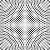 Modelo de puntos cuadrado convexo libre illustration