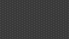 Modelo de puntos monocromático moderno abstracto moderno simple Foto de archivo