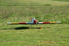 Modelo de radio de los aviones Fotografía de archivo libre de regalías