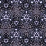 Modelo de rejilla abstracto del metal Imagen de archivo