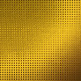 Modelo de rejilla del fondo de la textura del metal del oro Imágenes de archivo libres de regalías