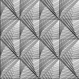 Modelo de rejilla monocromático inconsútil del diseño Imagen de archivo libre de regalías