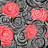 Modelo de Rose ilustración del vector