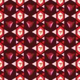 Modelo de rubíes Foto de archivo libre de regalías