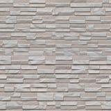 Modelo de Seamles de los paneles de pared grises de piedra Foto de archivo libre de regalías
