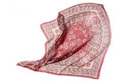 Modelo de la seda de la alfombra roja Fotos de archivo libres de regalías