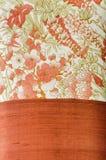 Modelo de seda tailandés del adorno. Imagen de archivo libre de regalías
