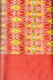 Modelo de seda tailandés del adorno. Fotos de archivo