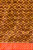 Modelo de seda tailandés del adorno. Imagenes de archivo