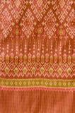 Modelo de seda tailandés del adorno. Imágenes de archivo libres de regalías