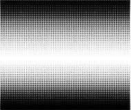 Modelo de semitono Fondo cómico Contexto retro punteado con los círculos, puntos Foto de archivo