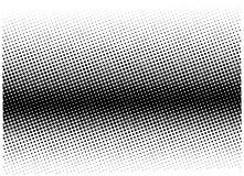 Modelo de semitono Fondo cómico Contexto retro punteado con los círculos, puntos Fotografía de archivo libre de regalías