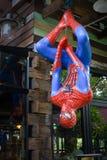 Modelo de Spider-Man fotografía de archivo