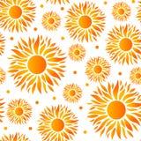 Modelo de Sun con colores de la pendiente libre illustration