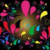 Modelo de Swirly Foto de archivo libre de regalías