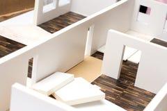 Modelo de tablero para cortar el pan de un interior Fotografía de archivo libre de regalías